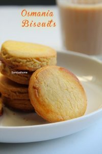 homemade osmania biscuits