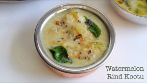 kootu with waterlemon rind