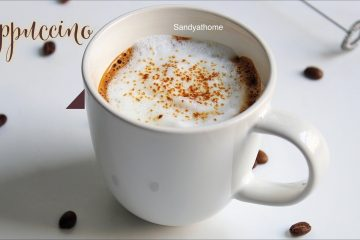 Indian style cappuccino
