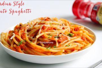 indian style tomato spaghetti