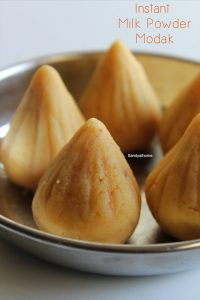 instant milk powder modak