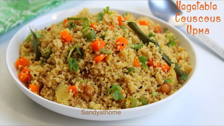 vegetable couscous upma