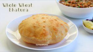 whole wheat bhatura