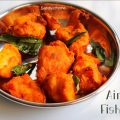 air fryer fish pakora