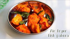 air fryer fish pakora
