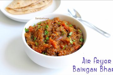 eggplant bharta in air fryer