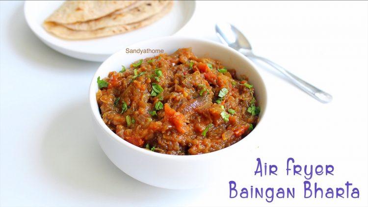 eggplant bharta in air fryer