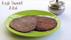 kezhvaragu sweet adai