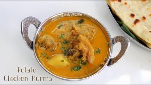 chicken kurma with potato