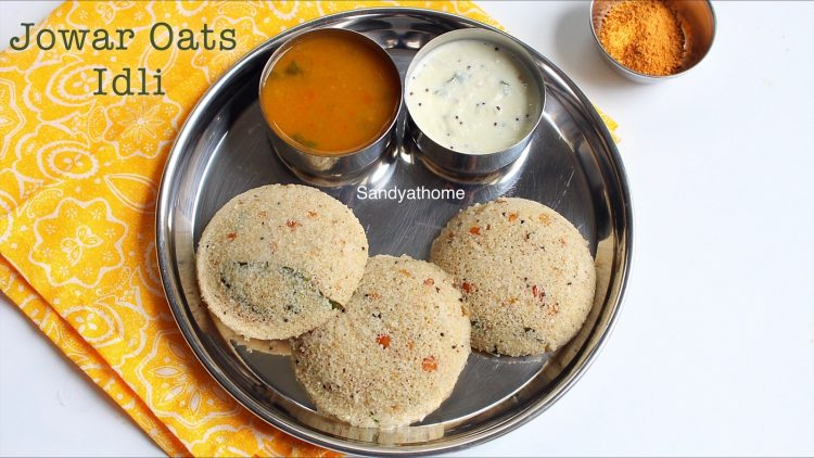 jowar rava oats idli recipe