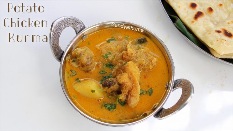 potato chicken kurma