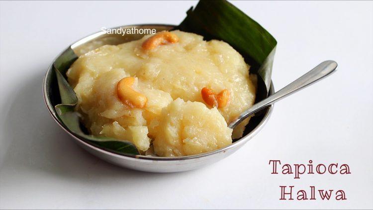 tapioca halwa
