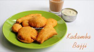 mixed vegetable bajji