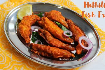 nethili fish fry recipe