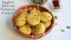 saffron pistachios cookies