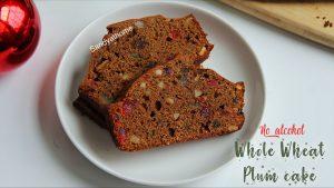whole wheat plum cake recipe