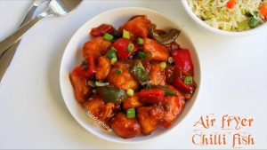 air fryer chilli fish
