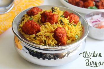 chicken 65 biryani recipe