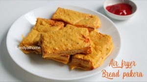 air fryer bread pakora