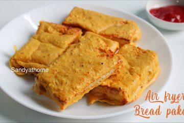 air fryer bread pakora