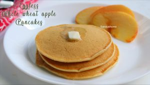 eggless whole wheat pancake recipe