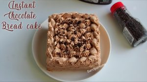 instant chocolate bread cake recipe
