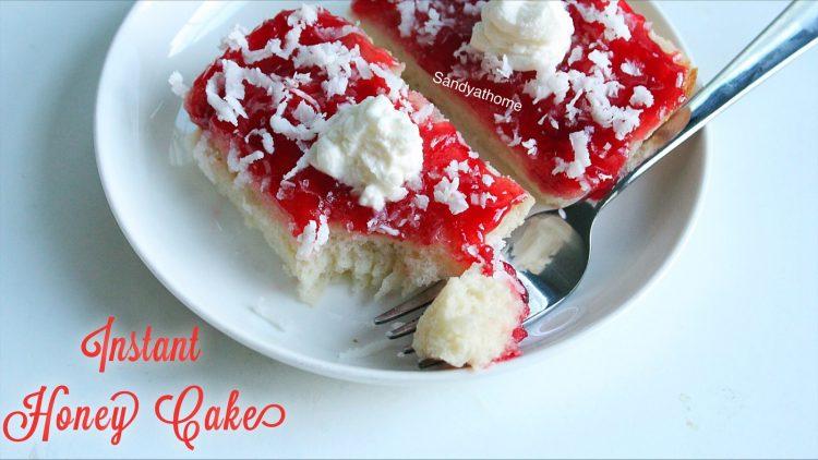instant honey cake