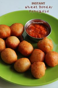 instant wheat bonda