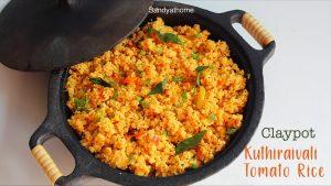 kuthiraivali tomato rice