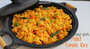 kuthiraivali tomato rice recipe