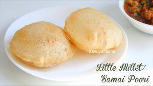 little millet poori