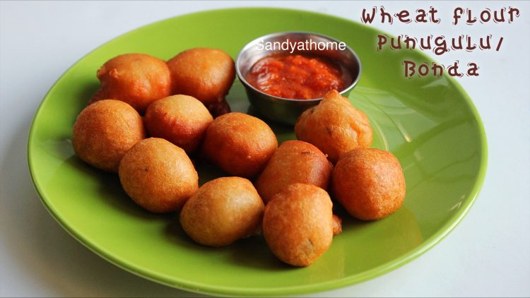 wheat punugulu recipe