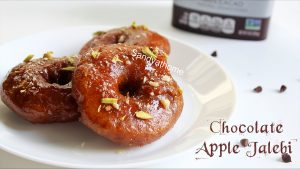chocolate apple jalebi