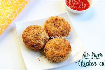 air fryer chicken cutlet recipe