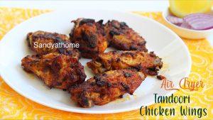 air fryer tandoori chicken wings