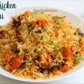 chicken makhani biryani