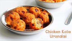 chicken kola urundai