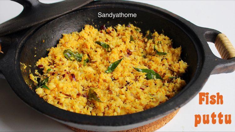fish bhurji recipe