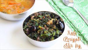 kale poriyal recipe