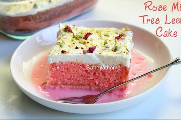 rose milk cake recipe
