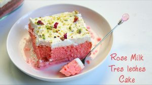 rose tres leches cake recipe