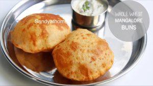 wheat mangalore buns