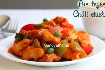 air fryer chilli chicken