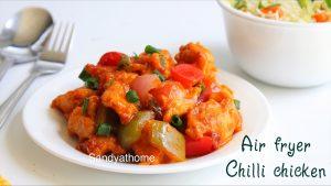 air fryer chilli chicken recipe